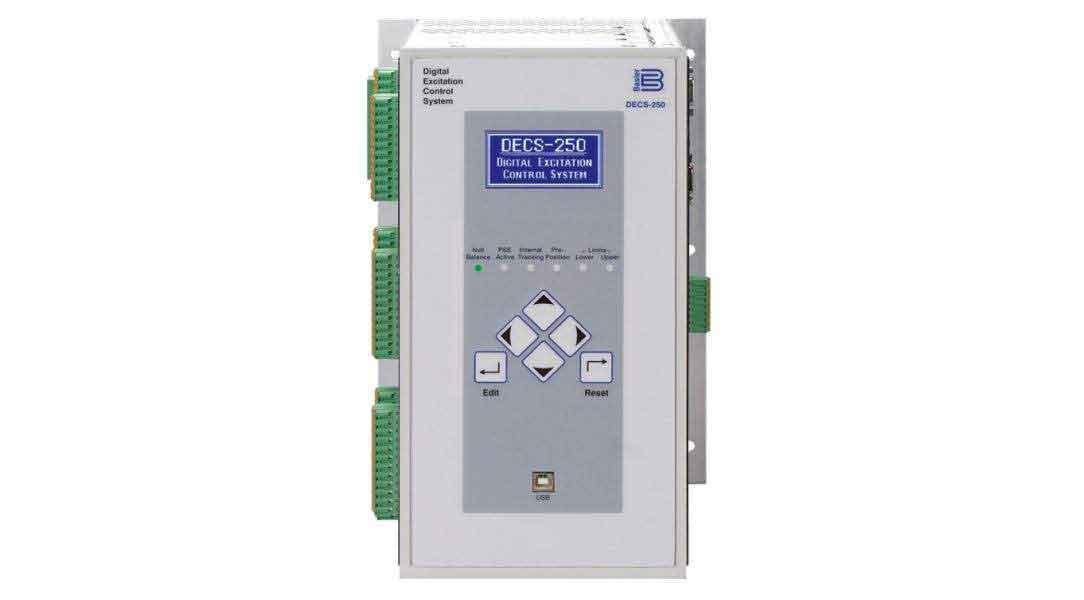 DECS-250, Digital Excitation Control System - Basler Electric