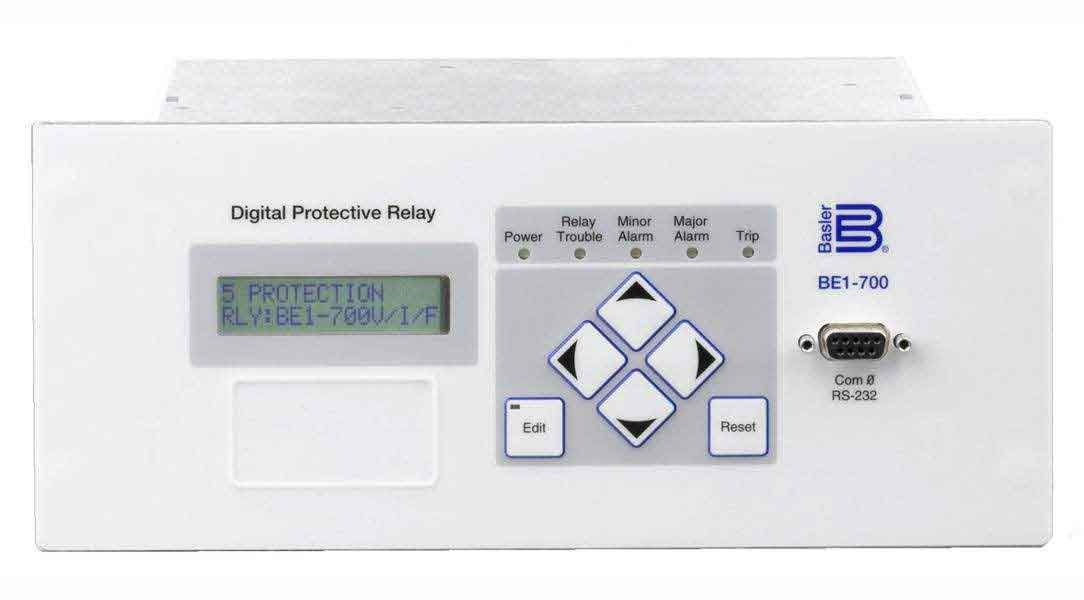 BE1-700, Digital Protective Relay - Basler Electric