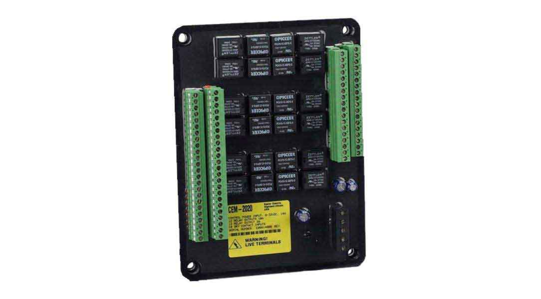 173 cem 2020, cem 2020h, contact expansion module basler electric dgc-2020 wiring diagram at bayanpartner.co